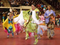 Catawba Pow-Wow held during Come-See-Me