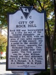 Rock Hill Historical Marker